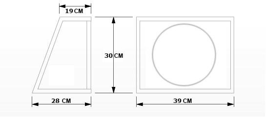 Caja subwoofer 10 pulgadas witt mart car audio - Cajon para subwoofer ...